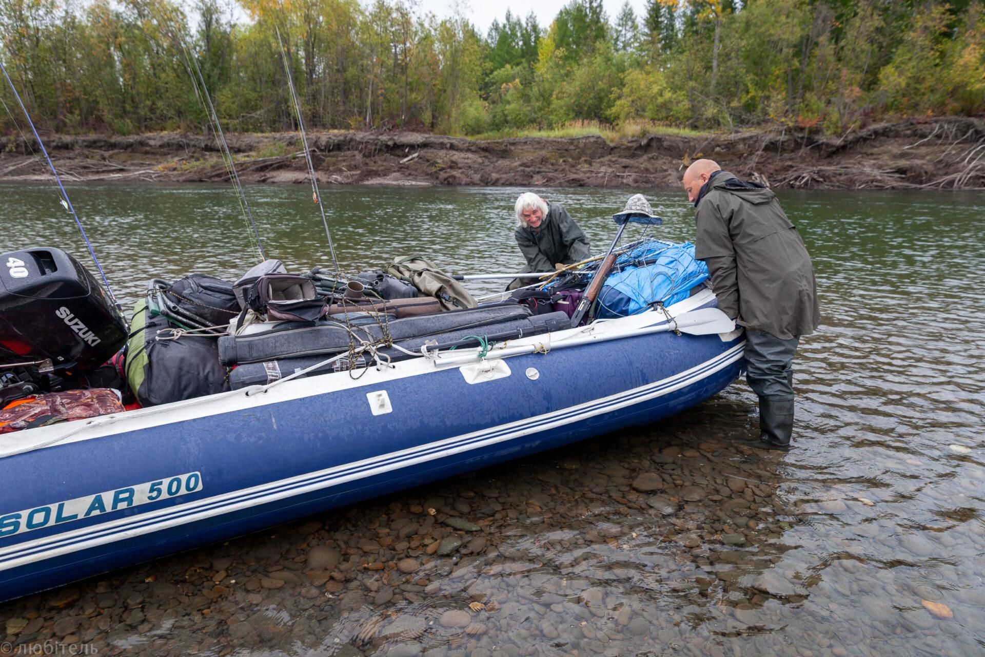 Плыла-качалась лодочка, дапоТомпо-реке. Часть 7