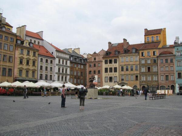 Побывшей Австро-Венгрии. 2008 год. Часть 1: Варшава, Вроцлав, Вена