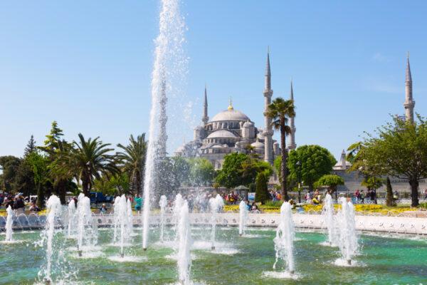 Восточная сказка— Стамбул. День первый