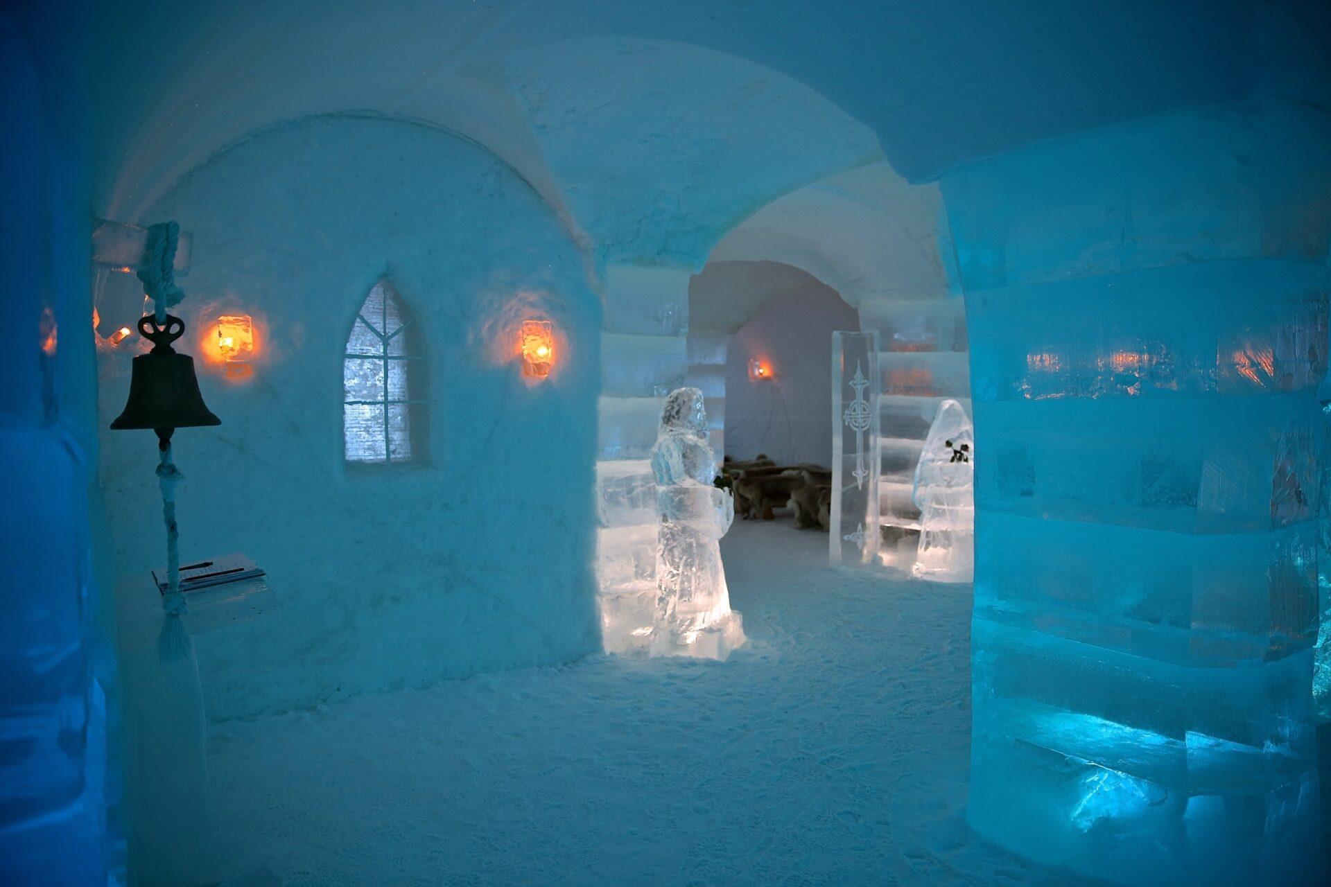 Ледяной отель Sorrisniva Igloo или ночь всугробе!