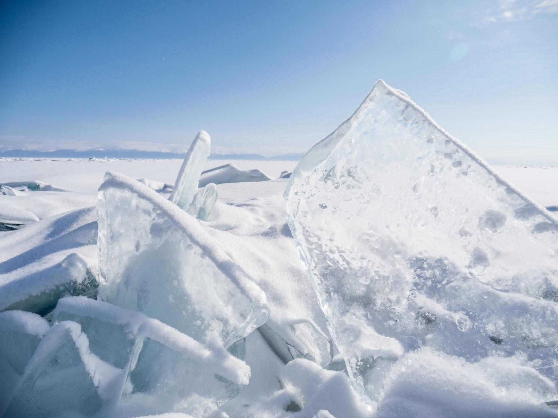 Чистый лед. Байкал 2018 (Часть 3) Нальду