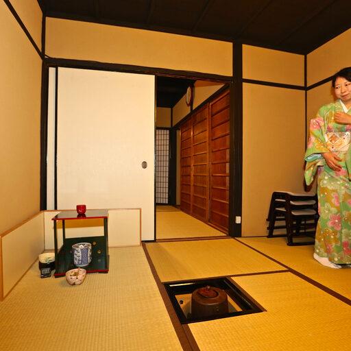 Чайная церемония в Японии (Киото)