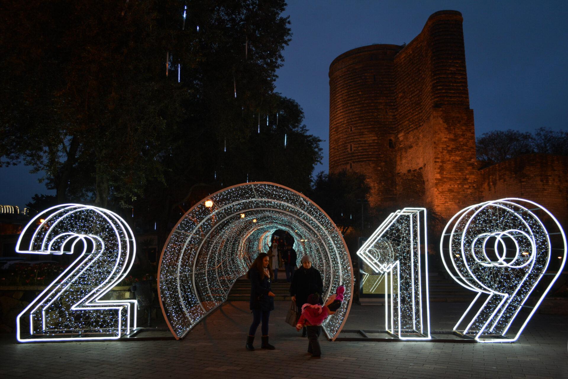 Новогодний Баку 2019