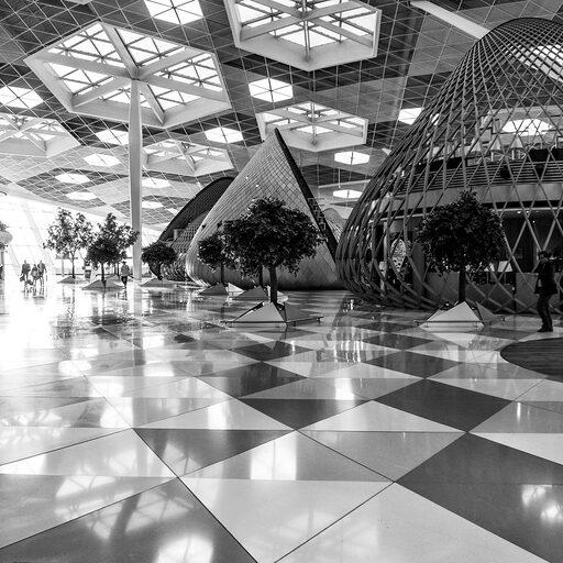 Аэропорт Баку.