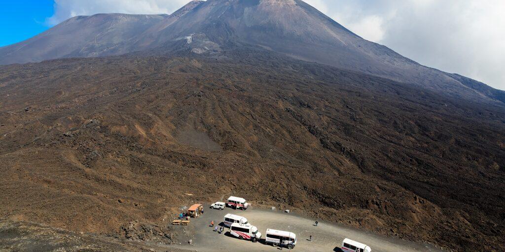 На вулкане