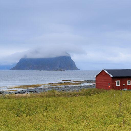Норвегия. Лофотенские острова. Великолепие одиночества.