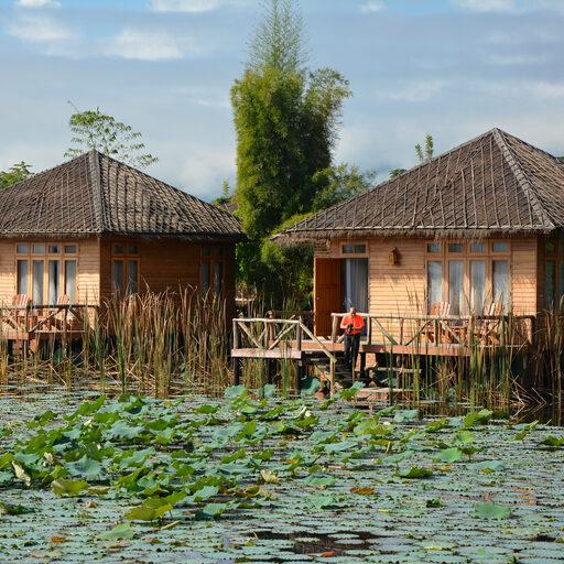 Водный мир озера Инле (Бирма)