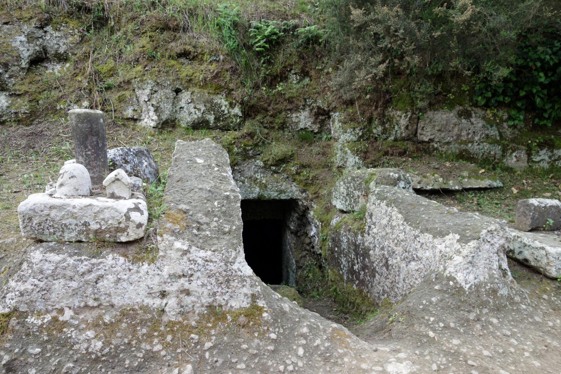 Этрусские некрополи вЧерветери, Италия