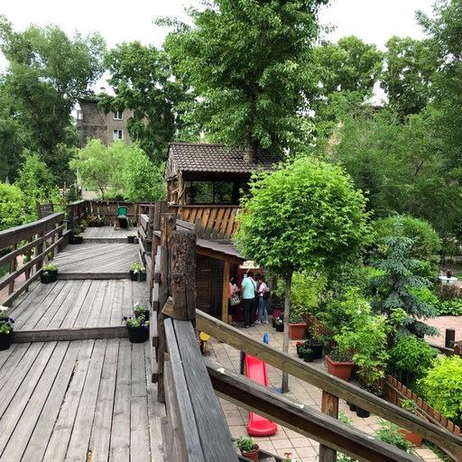 Прогулка по парку «Вдохновение» в Абакане (Хакасия)