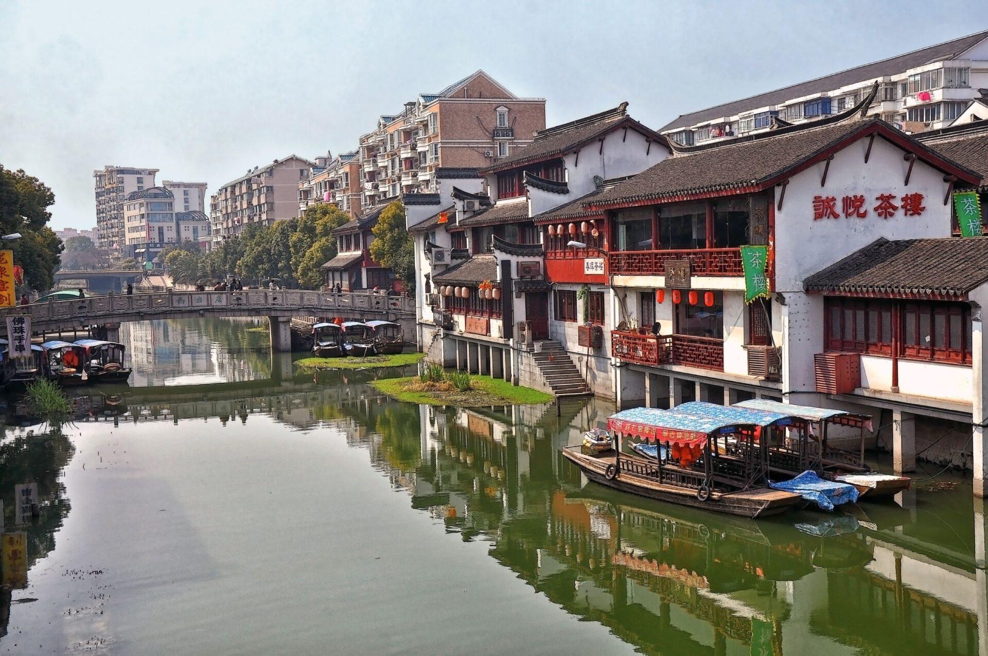Шанхайская Венеция иХрам Нефритового Будды