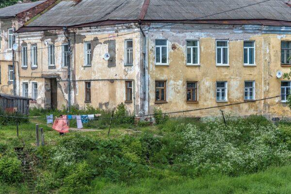 Древний русский город Торжок.
