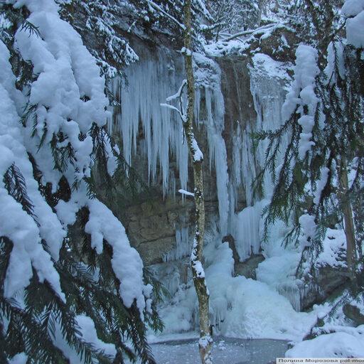 В плену белого снега и вечной зелени. Ледопад Суаткан