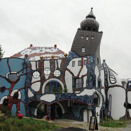 Архитектурное чудо в Абенсберге