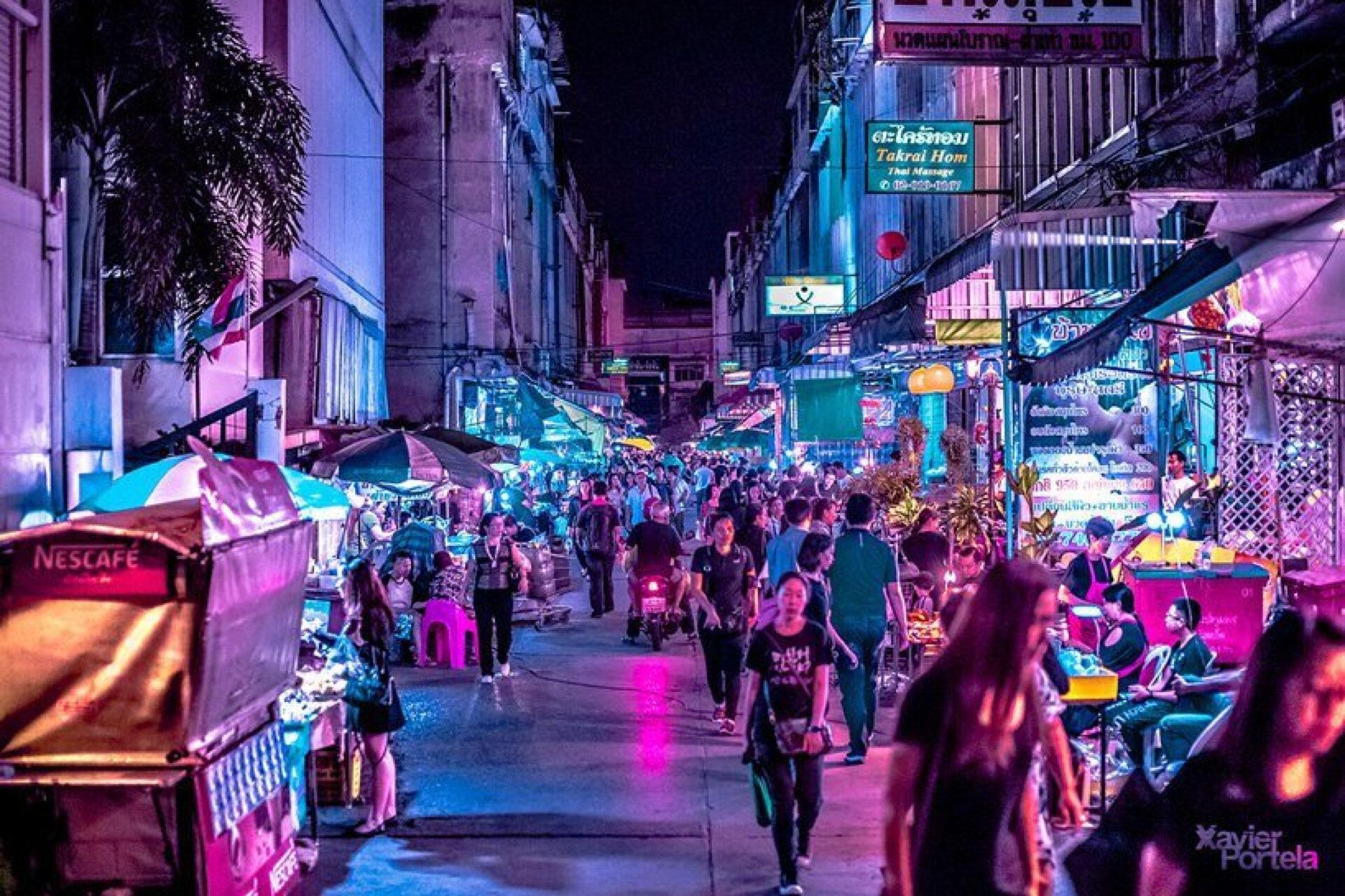 Немного Бангкока вленту !