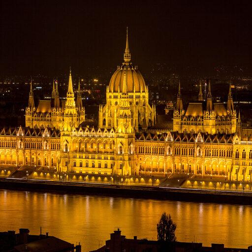 Венгрия. Будапешт. Город из золота.
