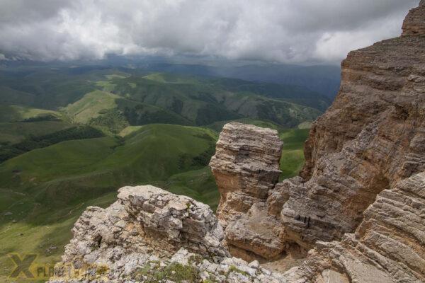 Плато Канжол— дорога воблаках