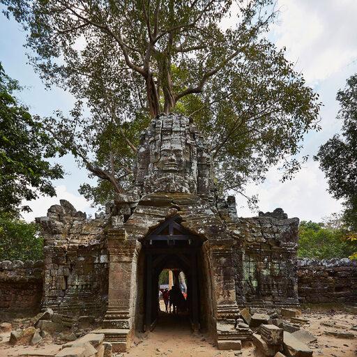 Камбоджа. Храмы Ангкора. Та Сом.