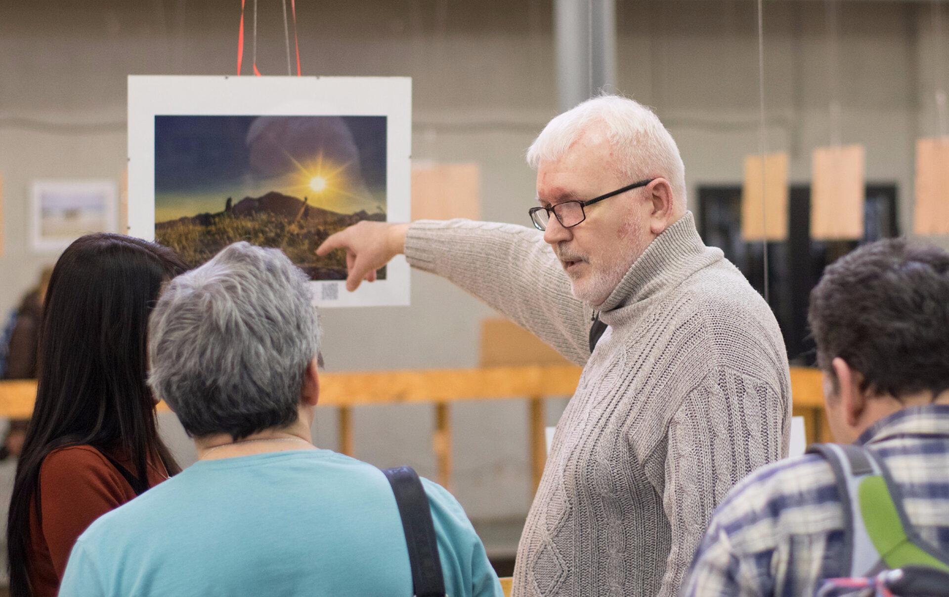 Презентация выставки Игоря Капустина «Жизнь встиле travel»