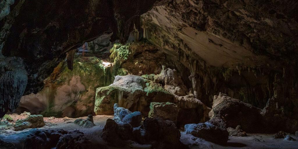 Доминикана. Пещера Святого Габриэля