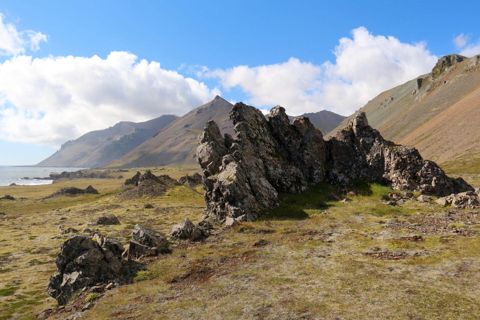 Юго-восточное побережье Исландии.