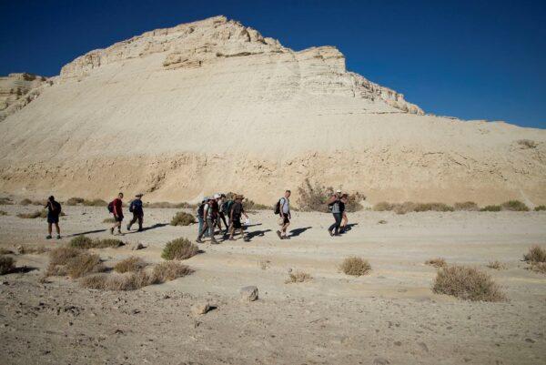 Иудейская пустыня.