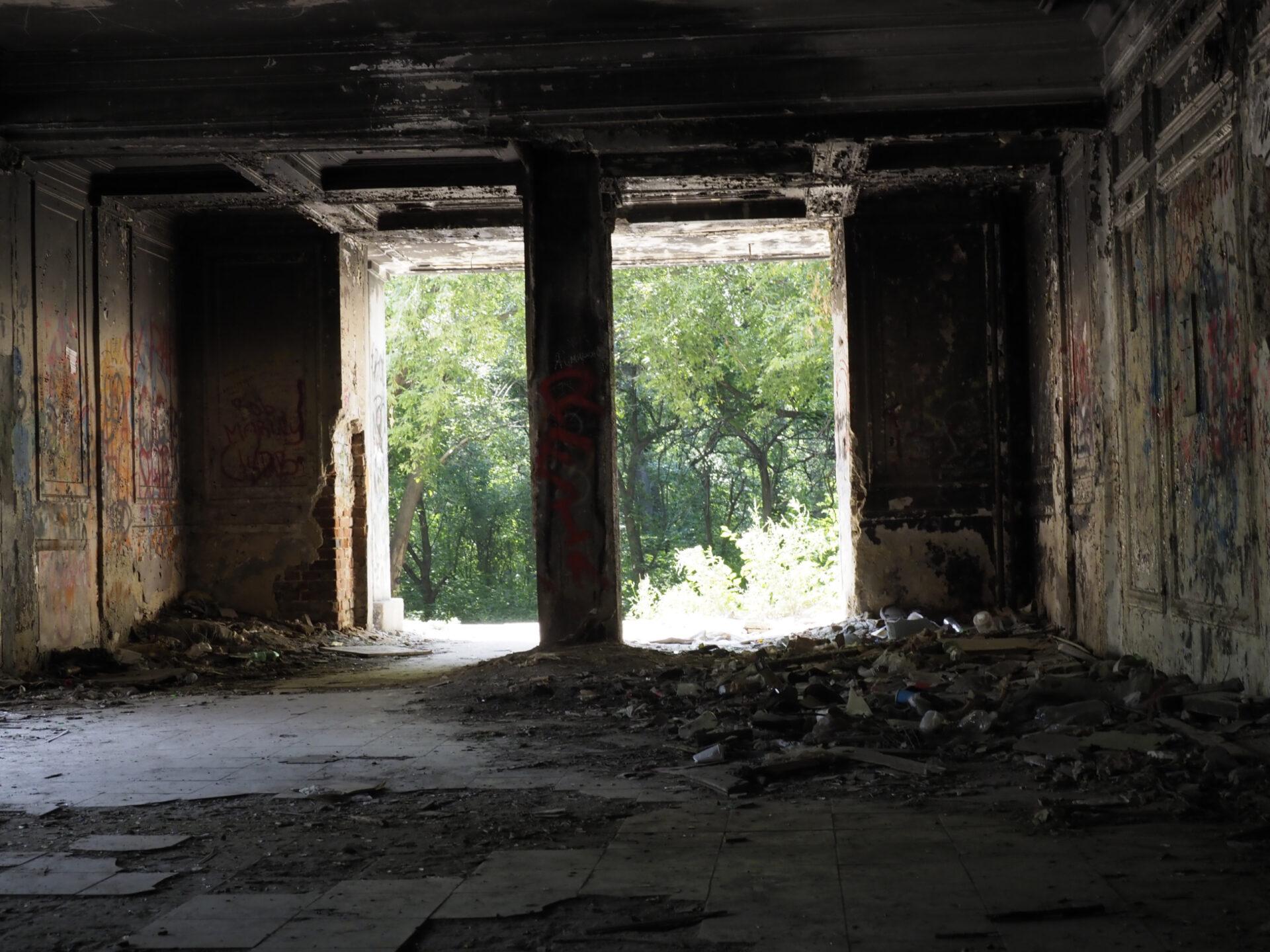 Екатеринбург. Старый госпиталь вЗеленой роще. Эстетика разрухи.
