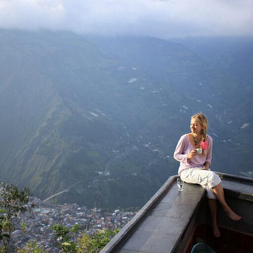 Баньос де Агуа Санта. Эквадор