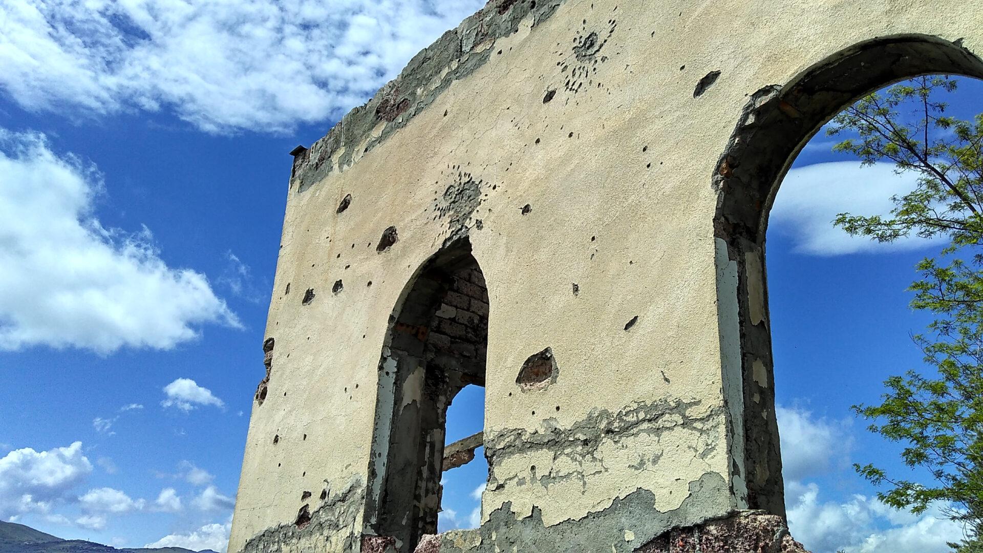 Южная Осетия. Цхинвал. Тирский монастырь.