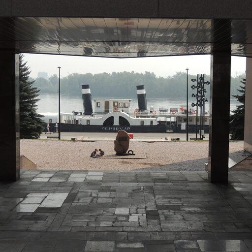 Центр Красноярска. Часть 4: левобережная набережная